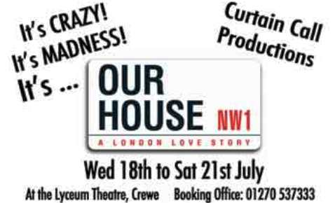 "Review: ""Our House"" at Crewe Lyceum Theatre"