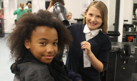 South Cheshire College welcomes Nantwich primary children