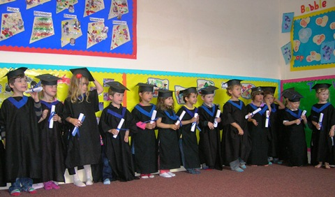 Nantwich nursery stages graduation for pre-school youngsters