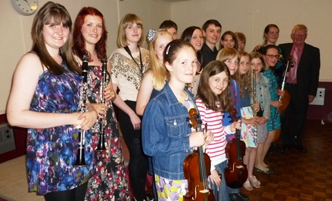 South Cheshire Young Musicians raise funds for The Dogs Trust