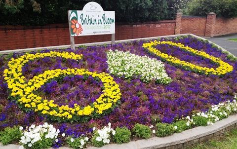 Wistaston in Bloom 2012 flowerbeds brighten up village