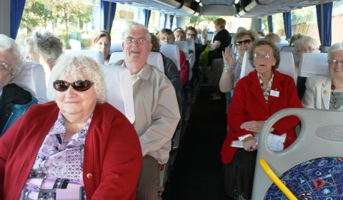 "Crewe and Nantwich OAPs attend 20th ""Pensioner's Parliament"""