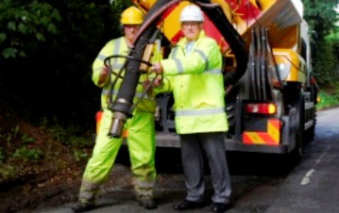 New pothole repair trials in Nantwich hailed a success