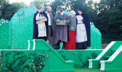 A Midsummer Night's Dream in Nantwich, by Chapterhouse Theatre Company