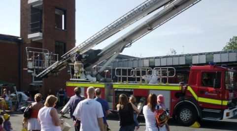 Nantwich families invited to Crewe Fire Station open day