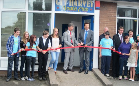 MP Edward Timpson opens new-look Nantwich youth club