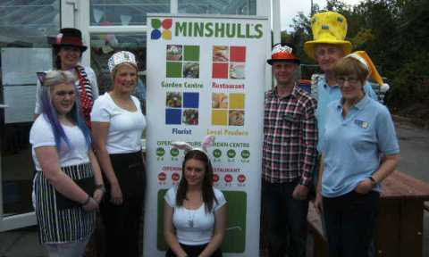 Minshull's fundraiser helps South Cheshire cancer patients