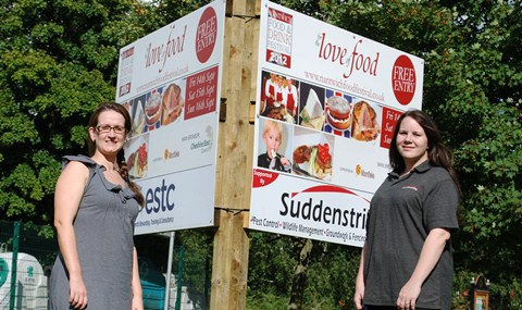 Nantwich Food and Drink sponsors ESTC and Suddenstrike