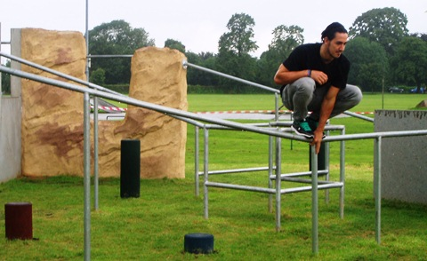 North West's first Freerunning park opens at Nantwich's Barony Park