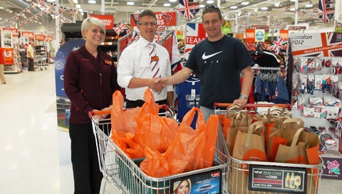 Nantwich Police and Sainsbury's organise fishing trip for youngsters