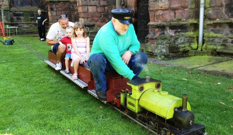 Steam railway plan unveiled for Nantwich town centre churches
