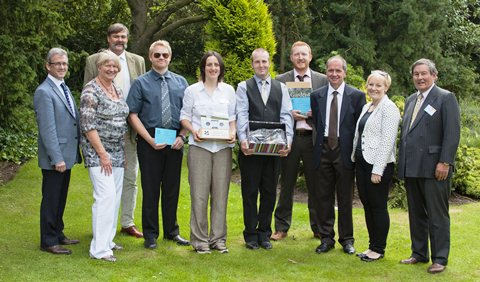 Reaseheath College and National Trust celebrate course success