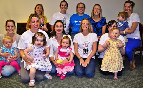 Boogying Nantwich babies raise £1,600 for One in Eleven Appeal