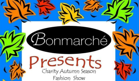 Bon Marche fashion show poster