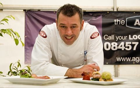 Celebrity chefs cook up a storm at Nantwich Food and Drink Festival
