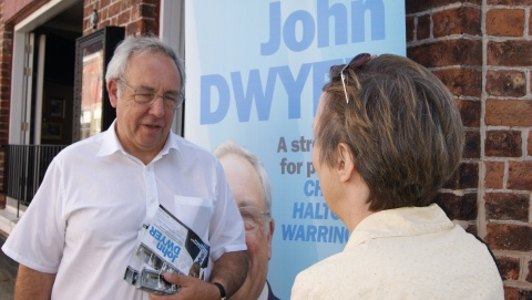 Conservative Cheshire PCC candidate sets out policing plan