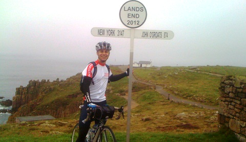 Former Brine Leas pupil takes on 500-mile ride for Leukaemia