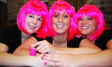 Madison Spa's pink charity night in Nantwich