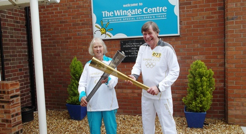 Nantwich charity champion's special Paralympic Torch moment