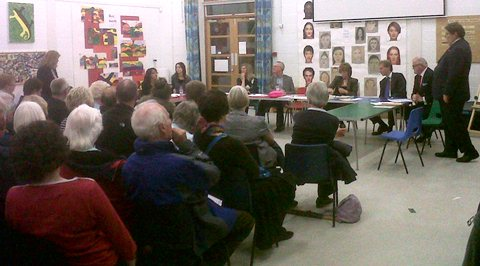 Stapeley public meeting