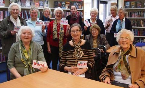 Acton & Reaseheath WI enjoys awards event at Nantwich Library