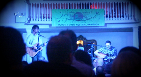 "Review: ""Athlete"" perform at Nantwich Words and Music Festival"