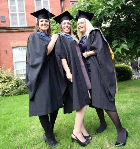 First Class Hons Equine Lucy Dent, Emily Cooke, Emma Carr