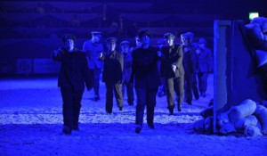 HOYS 2012, Reaseheath students acting as soldiers