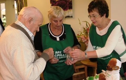 Richmond Village Nantwich raises £160 for Macmillan Cancer