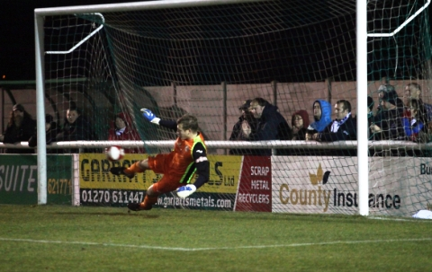 FA Trophy: Penalty heartache for Nantwich Town against Fylde