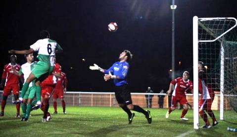 Evo-Stik Premier League: Nantwich Town 1 Hednesford 1