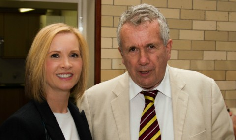 Sarah Flannery and Martin Bell
