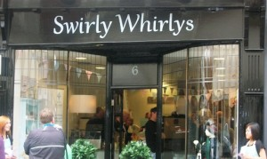 Swirly Whirlys in Nantwich