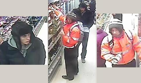 Police issue CCTV images in hunt for Cheshire Co-op thieves