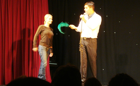 Review: Surreal end to hilarious Nantwich Stand Up Comedy Night