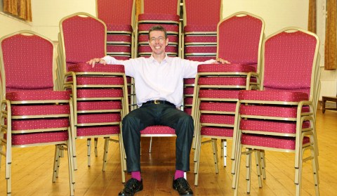 Wrenbury Village Hall sits pretty with 100 new chairs