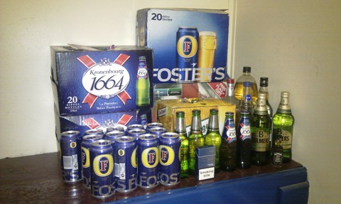 Police seize alcohol in crackdown on drunken yobs in Wistaston