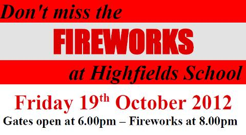 Highfields Community School to stage annual Family Fireworks event