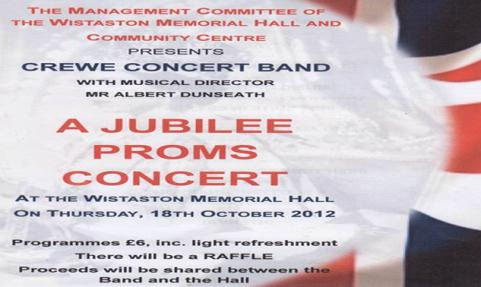 Residents invited to Jubilee Proms Concert in Wistaston