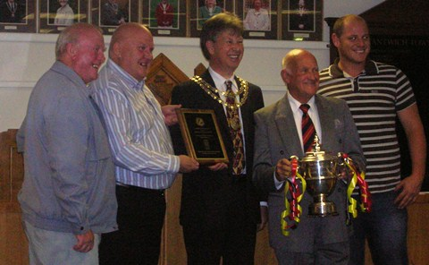 Nantwich Cricket Club rewarded at town council ceremony