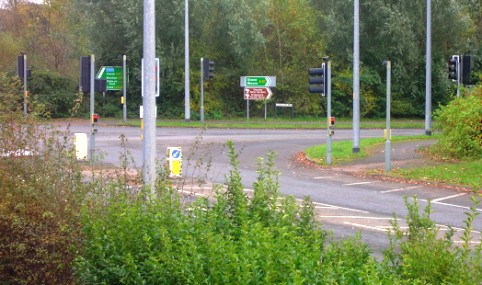 Police hunt attacker after road rage assault in Nantwich