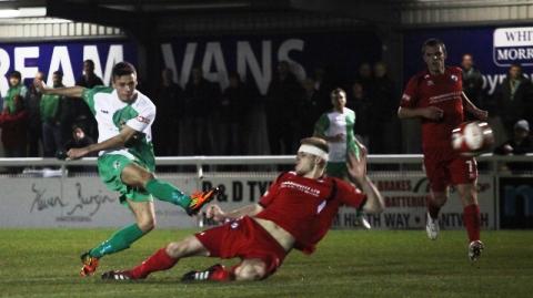 Evo-Stik match report: Nantwich Town 2 Buxton 2