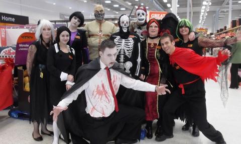 Sainsbury's Halloween fundraisers