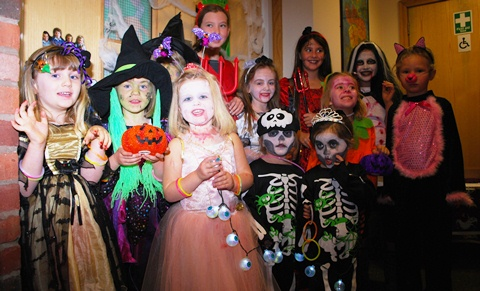 Nantwich primary school's Halloween disco raises £200 for new equipment