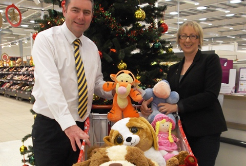Soft toy appeal to help Wingate Centre near Nantwich