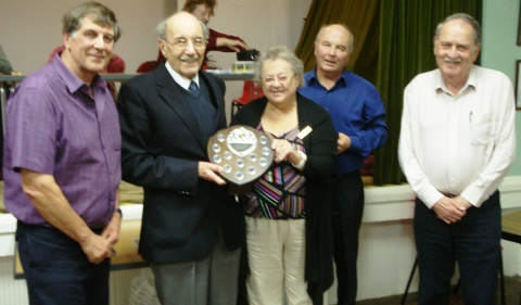 Wistaston quiz teams stage annual battle for Fred Lorimer trophy