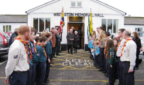 Wistaston Memorial Hall hosts packed Remembrance Service