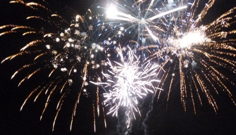 Families enjoy 35th annual Wistaston Fireworks Display