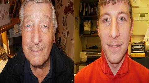 "Richmond Village Nantwich men join the ""Movember"" effort"