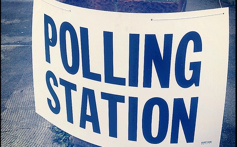 Hankelow polling station moved on election day due to fire